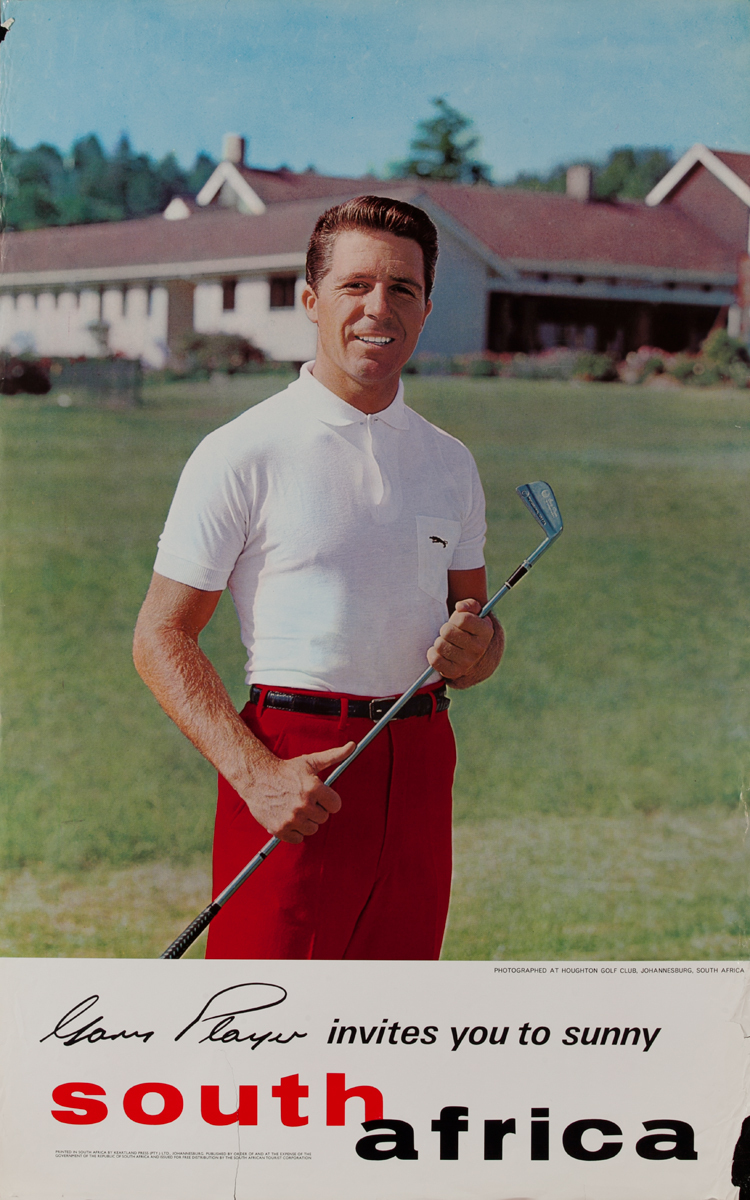 Gary Player invites you to sunny South Africa