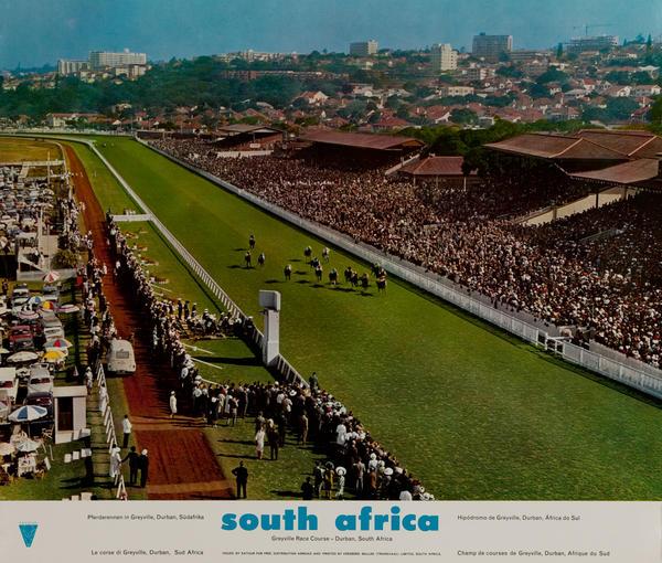 South Africa, Greyville Race Course -Durban