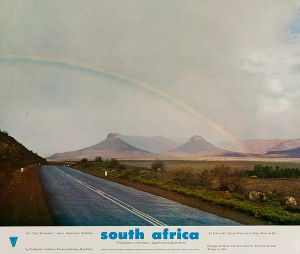 South Africa Three Sisters in the Karoo - Cape Province