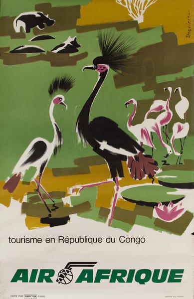Air Afrique, Tourisme en République du Congo, birds