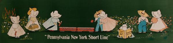Pennsylvania New York Short Line Poster
