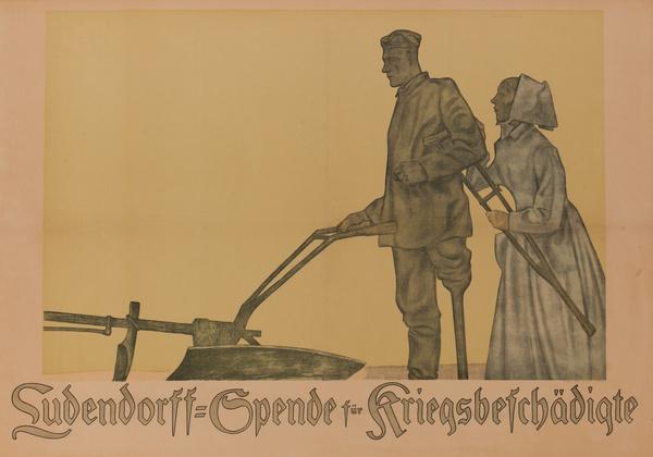 Ludendorff-Spende für Kriegsbeschädigte<br>German World War I Poster