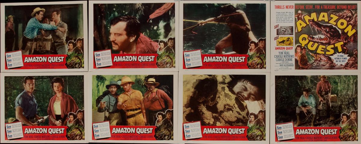 Amazon Quest Lobby Card Set