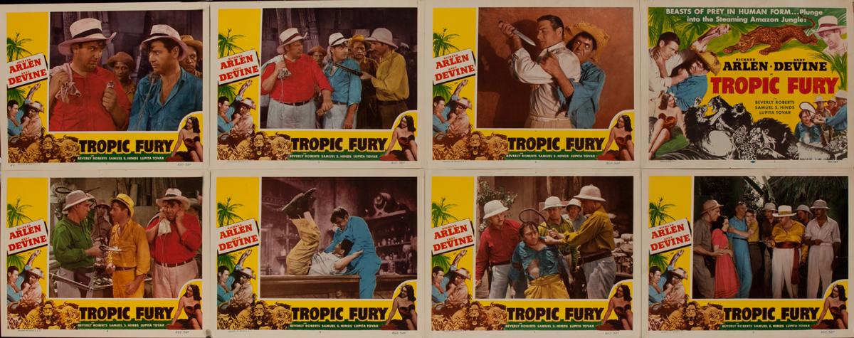 Tropic Fury Lobby Card Set