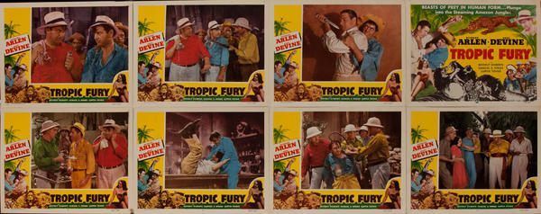 Tropic Fury Lobby Card Set