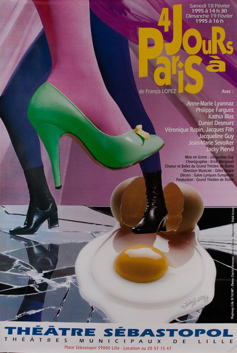 4 Jours a Paris Theater Sebastopol
