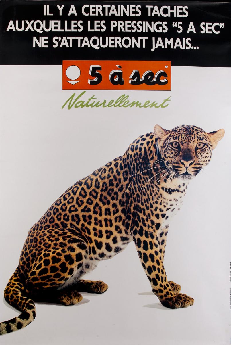 5 a sec Naturellement Leopard