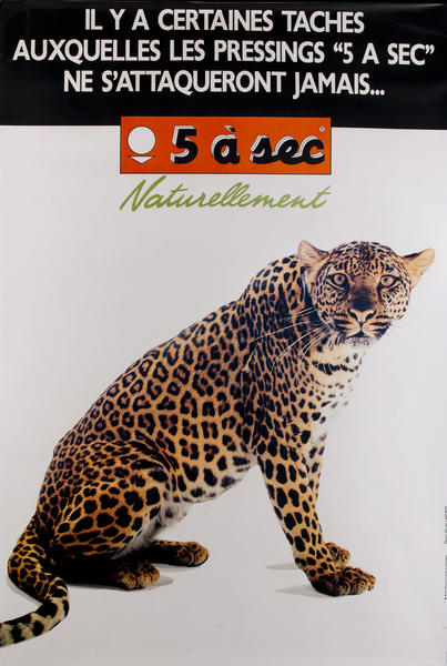 5 a sec Naturellement Leopard
