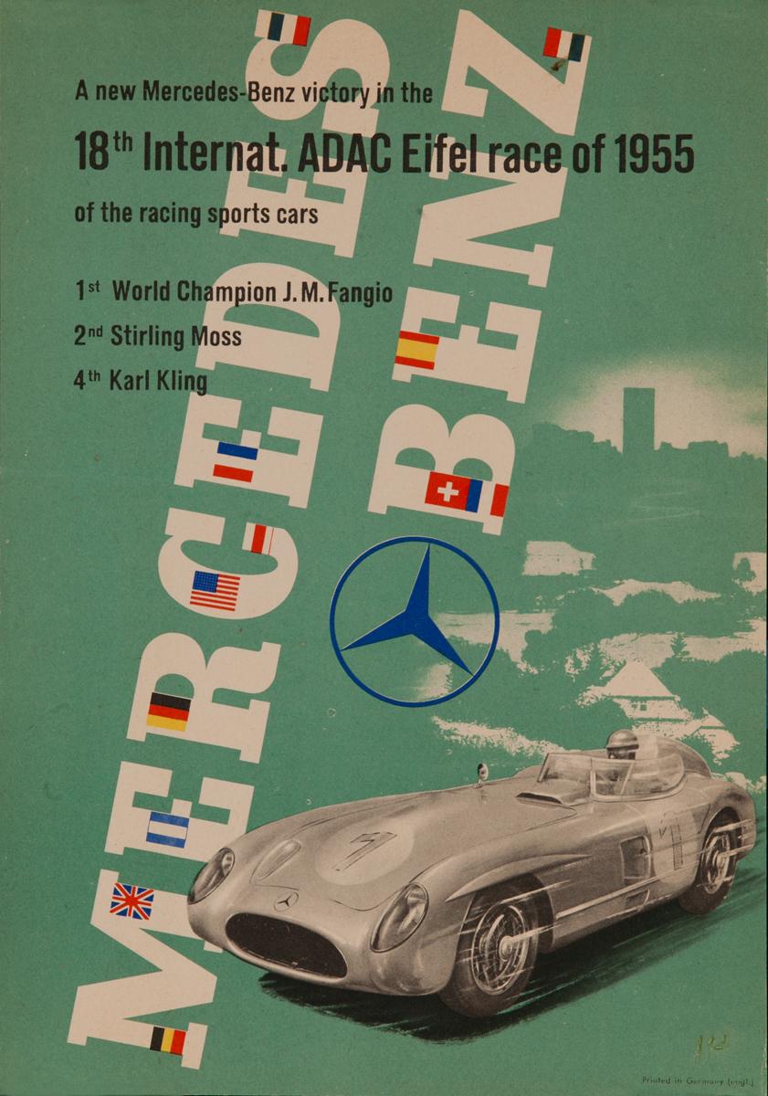 Mercedes Benz<br>18th Internat. ADAC Eifel race of 1955