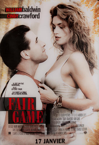 Fair Game, French Movie Poster