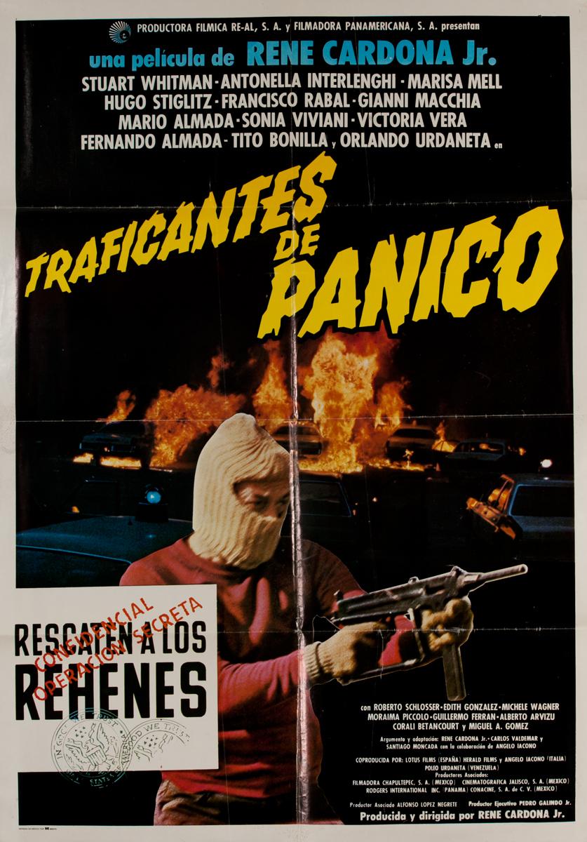 Traficantes de Panico - Under Seige<br>Mexican Movie Poster
