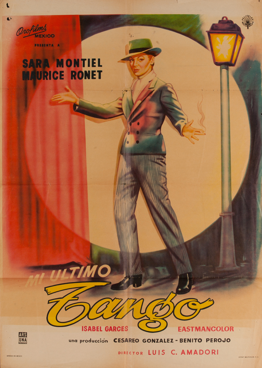 Mi Ultimo Tango<br>Mexican Movie Poster