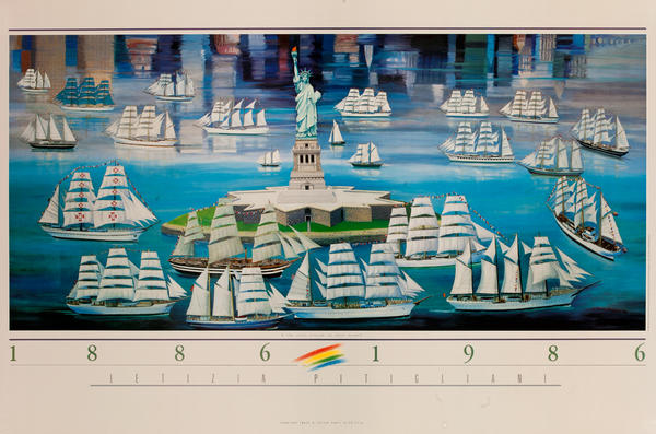 Statue of Liberty 1886 -1986