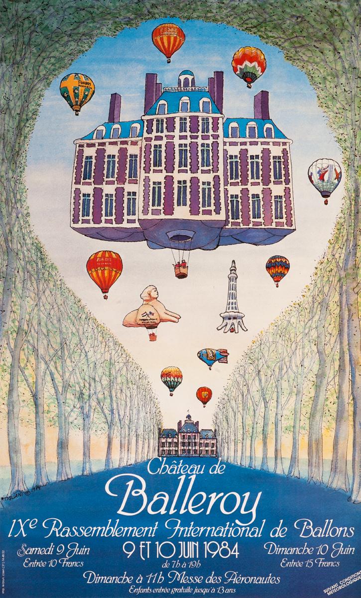 Chateau de Balleroy, IXe Rassemblement International de Ballons