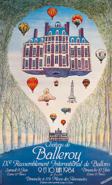 Chateau de Balleroy, IXe Rassemblement International de Ballons