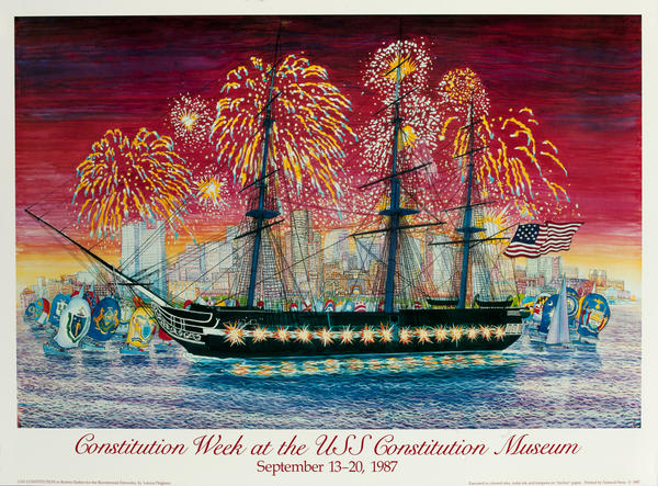 Constitution Week at the USS Constitution Museum