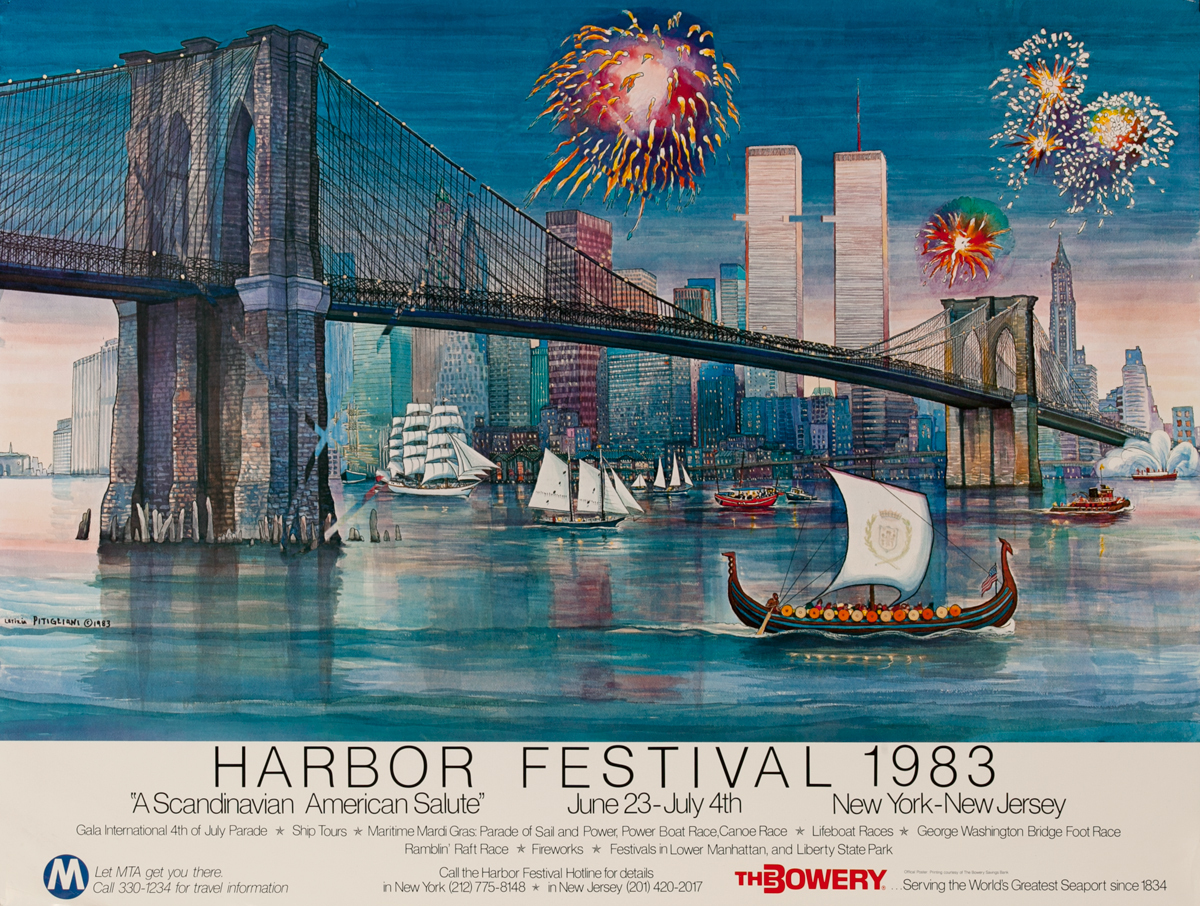 Harbor Festival 1983 - small size<br>A Scandinavian American Salute