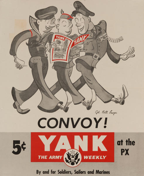 Convoy Yank The Army Weekly at the PX