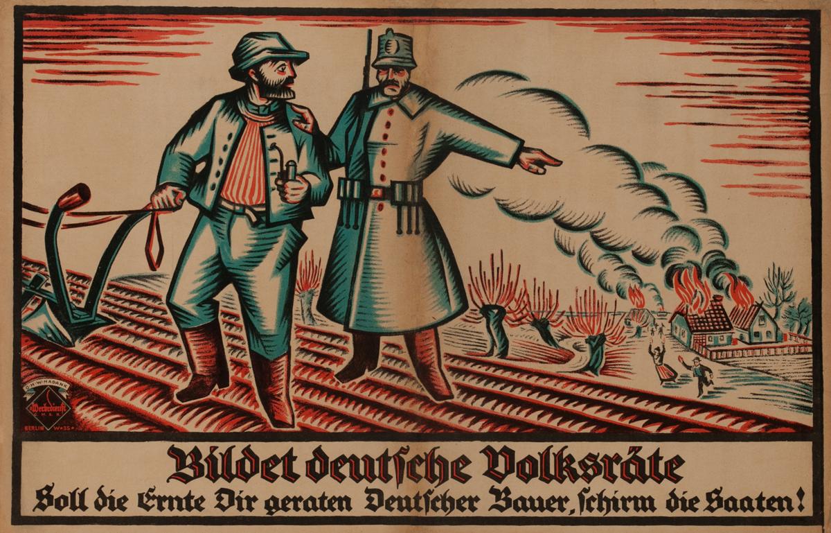 Bildet Deutsche Volksräte - Soll die Ernte Dir geraten Deutscher Bauer, schirm die Saaten