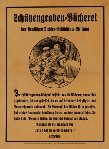Schützengraben-Bücherei der Deutschen Dichter-Gedächtnis-Stiftung