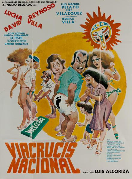 Viacrucis Nacional, Mexican 1 Sheet Movie Poster