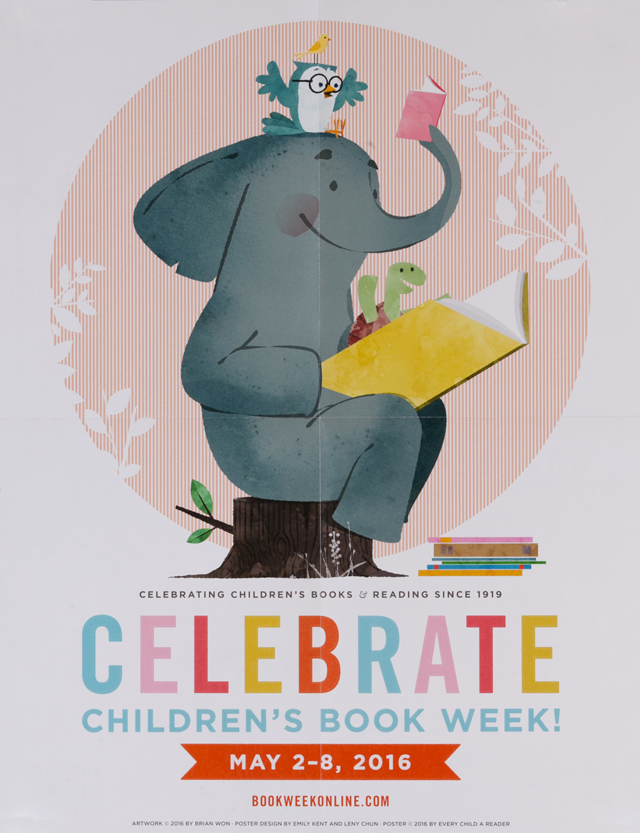 2016 Children's Book Week Poster