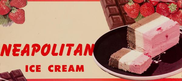 Neapolitan Ice Cream Poster