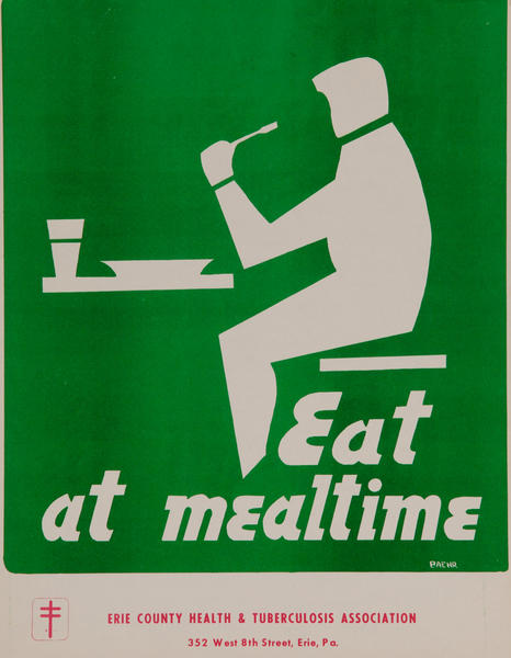 Eat at Mealtime<br>American Health Poster