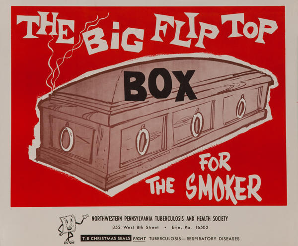 The Big Flip Top Box for the Smoker<br>American Health Poster