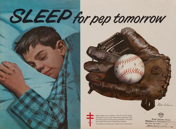 Sleep for pep tomorrow<br>American Health Poster