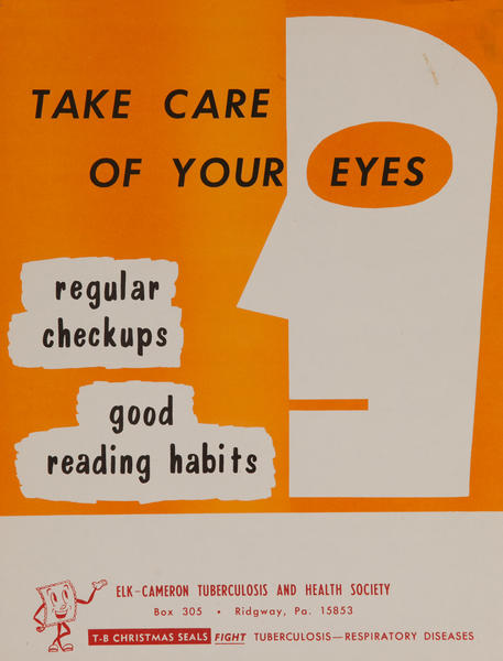 Take Care of Your Eyes<br>American Health Poster