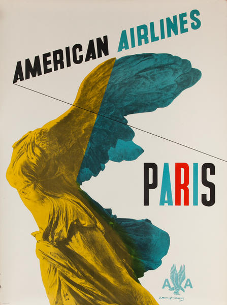 American Airlines Paris, Poster Winged Victory of Samothrace