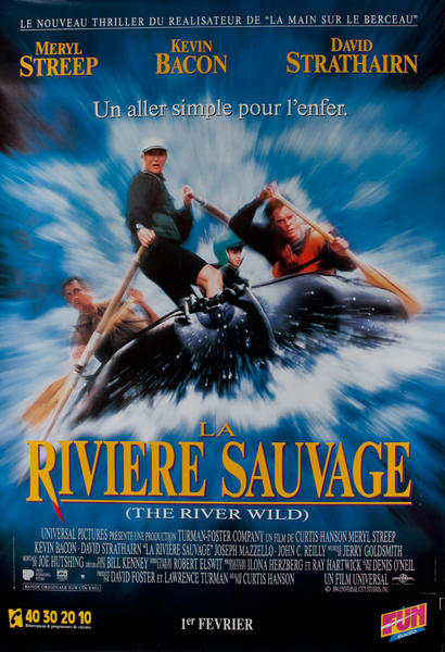 The River Wild<br>French Release Movie Poster