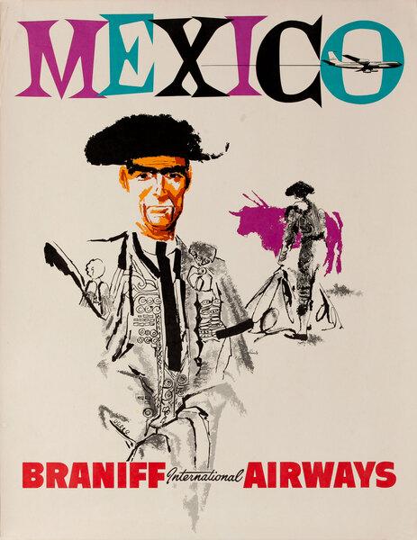 Mexico Braniff International Airways<br>Mexico Bullfighter