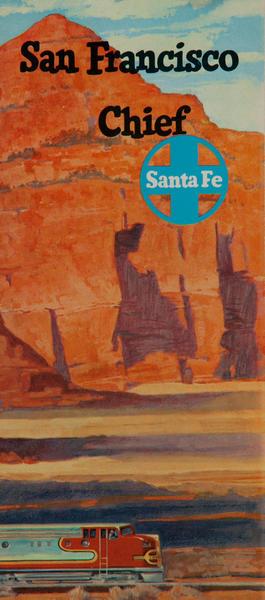 Santa Fe Chief Travel Brochure