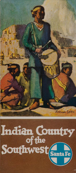 Indian Country of the Southwest Santa Fe Travel Brochure