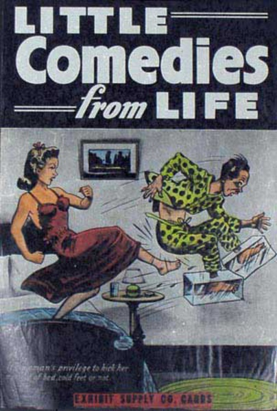 Little Comedies From Life Original Carnival Display Poster