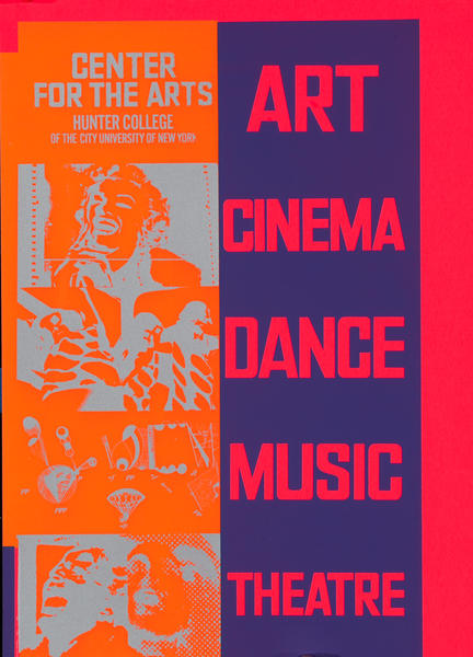 Art Cinema Dance Music Theatre<br>Center for the Arts Hunter College