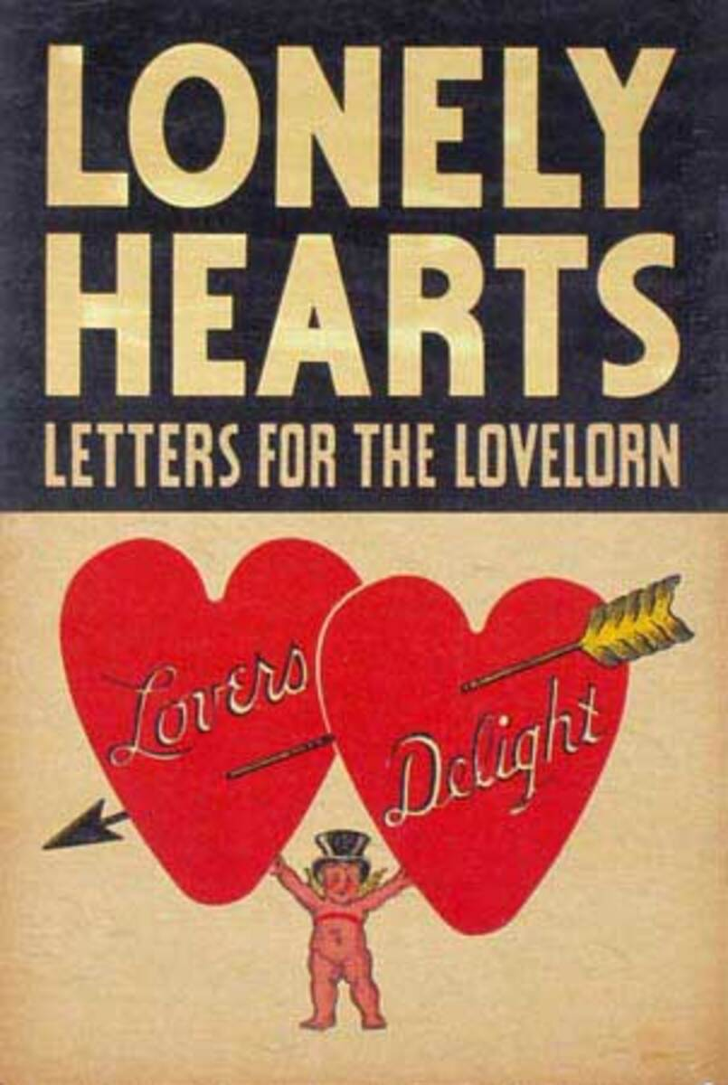 Lonely Hearts Original Carnival Display Poster
