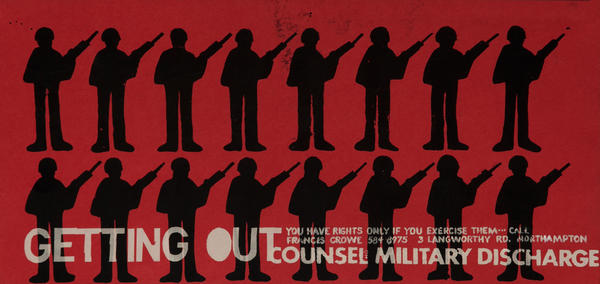 Getting Out Vietnam War Protest Poster