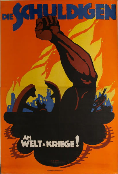 Die Schuldigen Am Welt Kriege! The Guilty<br>German WWI Movie Poster