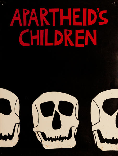 Apartheid's Children Political Protest Poster