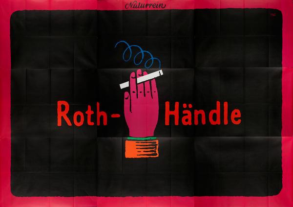 Roth-Handl Cigarette Poster