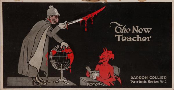 The New Teacher - Barron Collier Patriotic Series No2 WWI Poster