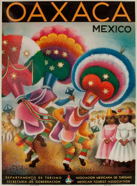 Oaxaca Mexico Travel Poster
