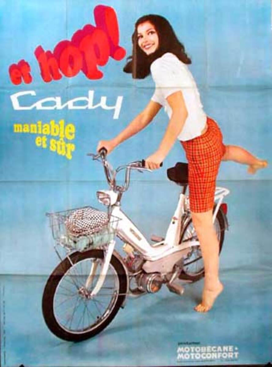 Cady Hop Scooter Original Vintage Poster
