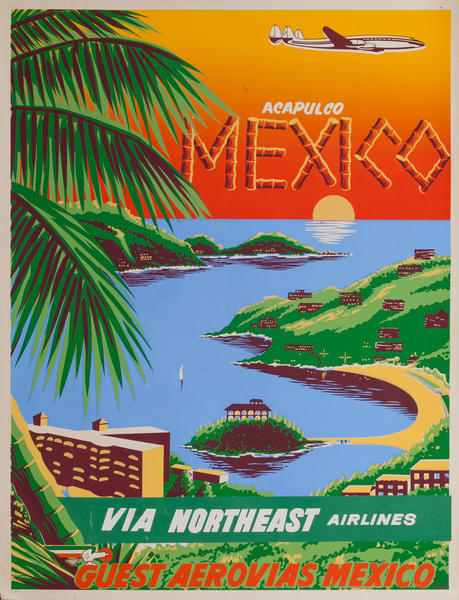 Acapulco Mexico Via Northeast Airlines