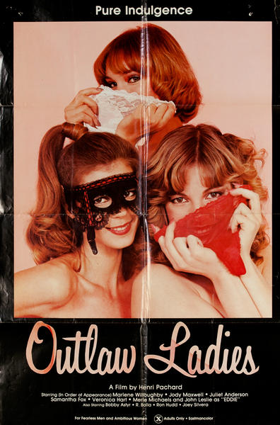 Outlaw Ladies  X Rated Movie Poster