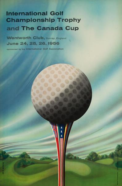International Golf Championship Trophy and the Canada Cup, Wentworth Club, Surrey England