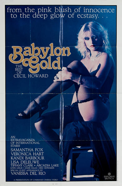 Babylon Gold X Rated Movie Poster